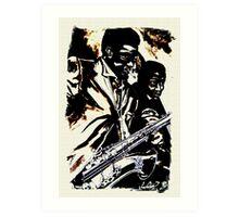Jazz 4 Art Print