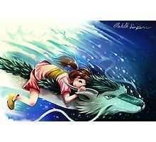 Spirited Away, Haku and Chihiro Photographic Print