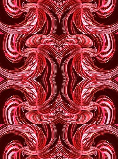 Red Swirled by KazM