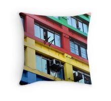 Colours of Brazil 1 Throw Pillow