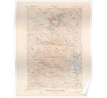 Maine USGS Historical Map Fish River Lake 306562 1935 62500 Poster