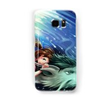 Spirited Away, Haku and Chihiro Samsung Galaxy Case/Skin