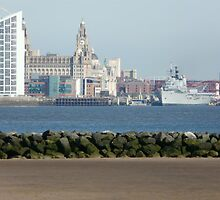 ark royal visiting liverpool by taxibaby1