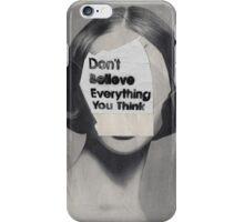 thinker iPhone Case/Skin