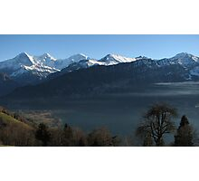 Above Interlaken, Switzerland Photographic Print