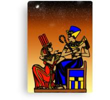 Egyptian Art Canvas Print