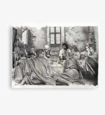 The Upper Room Canvas Print