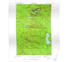 Maine USGS Historical Map Fish River Lake 460399 1931 62500 Poster