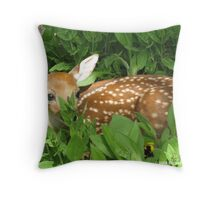 Fawning In Love.. Throw Pillow
