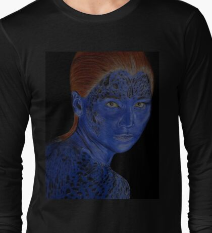 Mystique X-Men Long Sleeve T-Shirt