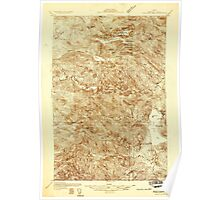 Maine USGS Historical Map Fish River Lake 807490 1931 48000 Poster