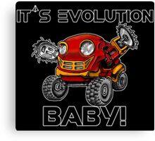 Robot Evolution Canvas Print