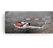 BELL 212 OVER AFGHANISTAN Canvas Print