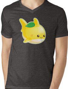 Cute Pun Lemon Shark Mens V-Neck T-Shirt