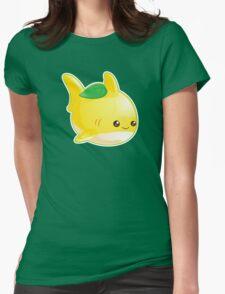 Cute Pun Lemon Shark Womens Fitted T-Shirt
