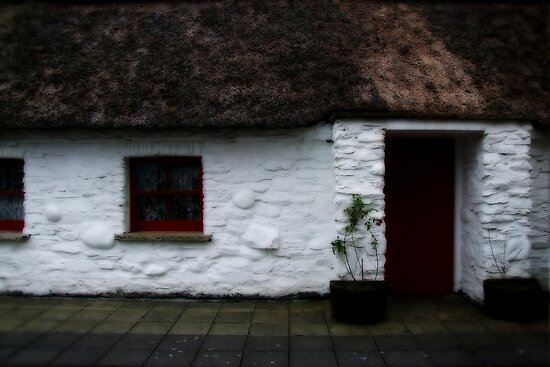Thatched cottage 2 by Agnes McGuinness