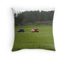 roy hanks dave west Throw Pillow