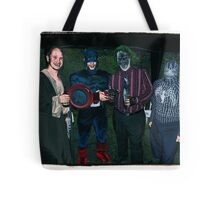 Super Heroes at play! Tote Bag