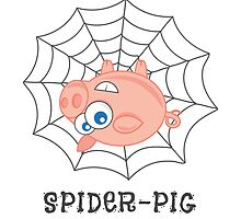 Spider-Pig by groovyspecs