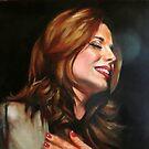 portrait of Katia  by Hidemi Tada