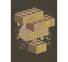 Old School Games - Classic Photographic Print