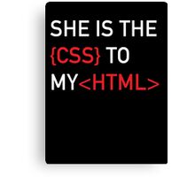 The CSS to my HTML Canvas Print