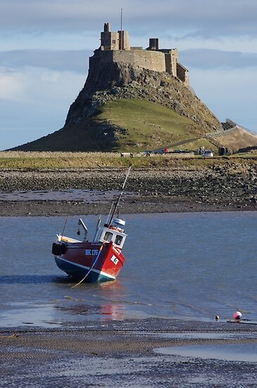 Castle & Boat by Francis Drake