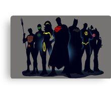 Justice League Canvas Print