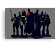 Justice League Canvas Print