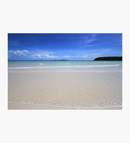 White Sand Beach, Great Barrier Reef, Cape York, Australia Photographic Print