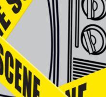 Crime Watch Sticker