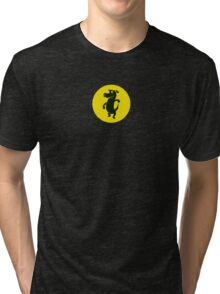 Dancing With The Black Dog Tri-blend T-Shirt