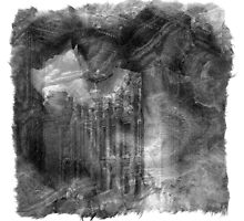 The Atlas of Dreams - Plate 5 (b&w) by Richard Maier