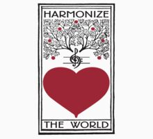 Harmonize The World Heart & Tree by Zehda