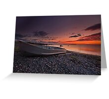 Just before Sunrise Greeting Card