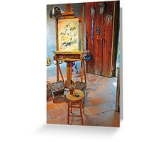 DeGrazia, Gallery In The Sun Greeting Card