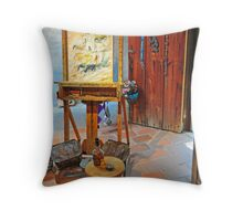 DeGrazia, Gallery In The Sun Throw Pillow