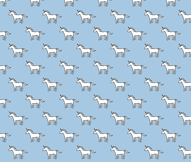 Quot Cute Unicorn Pattern Quot Duvet Covers By Jezkemp Redbubble