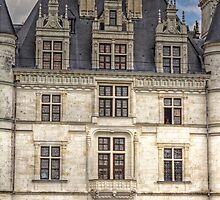 Chateau de Chenonceau, France #8 by Elaine Teague