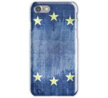 Grunge Flag Of Europe iPhone Case/Skin