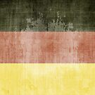 Grunge Flag Of Germany by Olga Altunina