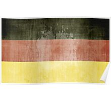 Grunge Flag Of Germany Poster