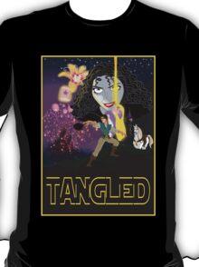 Tangled Star Wars Poster T-Shirt