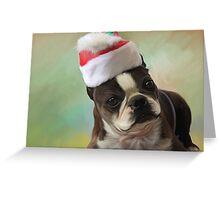 Amby christmas Greeting Card