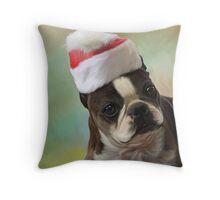 Amby christmas Throw Pillow