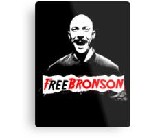 Free Charles Bronson v2 Metal Print