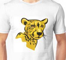 Cheetah portrait Unisex T-Shirt