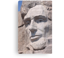Abraham Lincoln, Mount Rushmore National Memorial Canvas Print