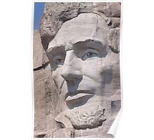 Abraham Lincoln, Mount Rushmore National Memorial Poster