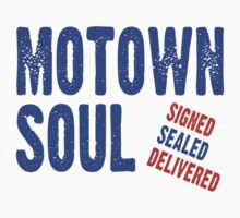 Motown Soul Signed Sealed Delivered by Zehda
